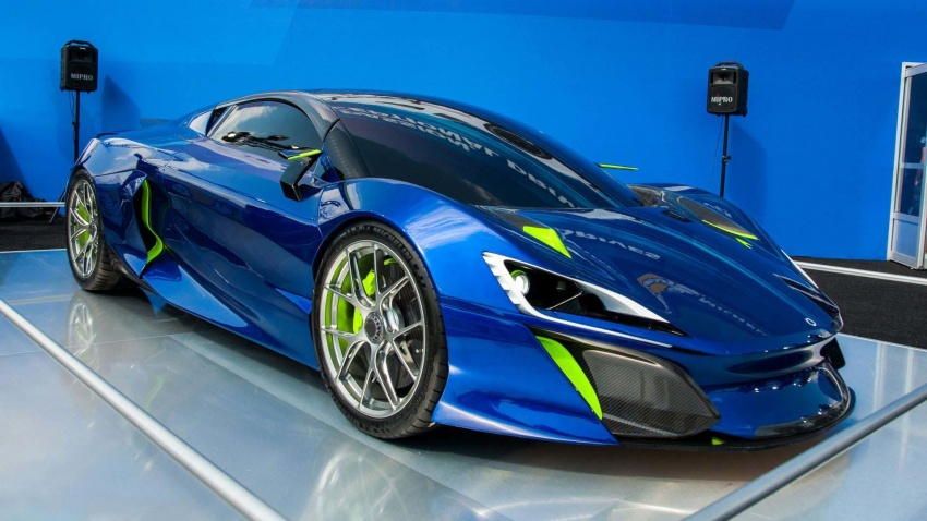 Boreas – new Spanish hypercar with over 1,000 hp! Image #683306