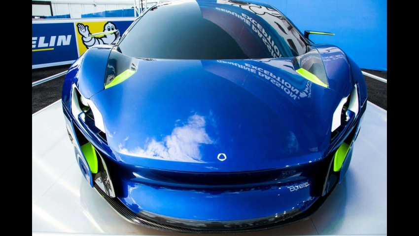 Boreas – new Spanish hypercar with over 1,000 hp! Image #683307