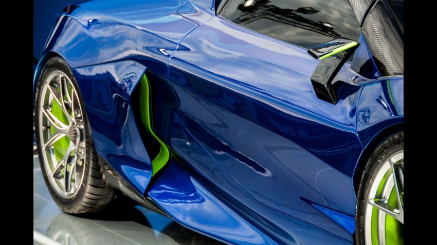 Boreas – new Spanish hypercar with over 1,000 hp! Image #683308