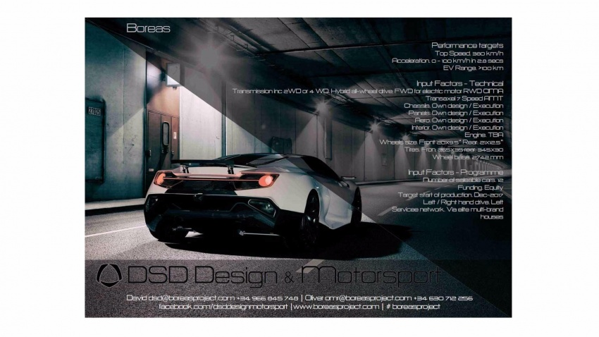 Boreas – new Spanish hypercar with over 1,000 hp! Image #683309