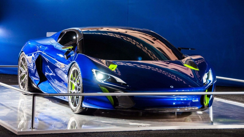 Boreas – new Spanish hypercar with over 1,000 hp! Image #683312