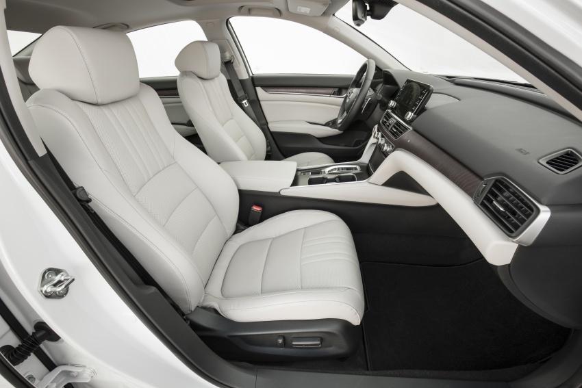 Honda Accord 2018 didedahkan – 1.5 VTEC Turbo dan 2.0 VTEC Turbo bersama transmisi auto 10-kelajuan Image #683789