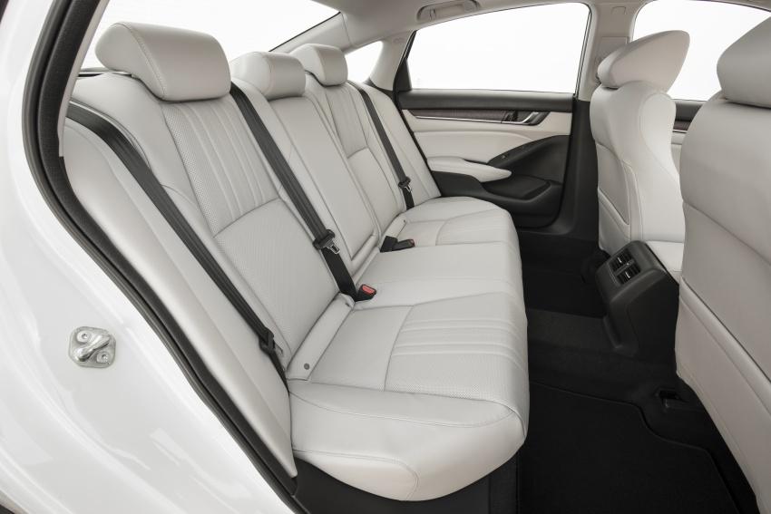 Honda Accord 2018 didedahkan – 1.5 VTEC Turbo dan 2.0 VTEC Turbo bersama transmisi auto 10-kelajuan Image #683773