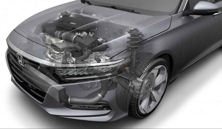 2018 Honda Accord unveiled – 192 hp 1.5 and 252 hp 2.0 turbo, 10-speed auto, standard Honda Sensing Image #683534