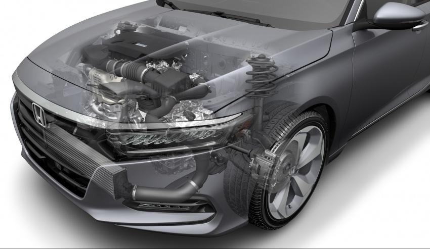 Honda Accord 2018 didedahkan – 1.5 VTEC Turbo dan 2.0 VTEC Turbo bersama transmisi auto 10-kelajuan Image #683760