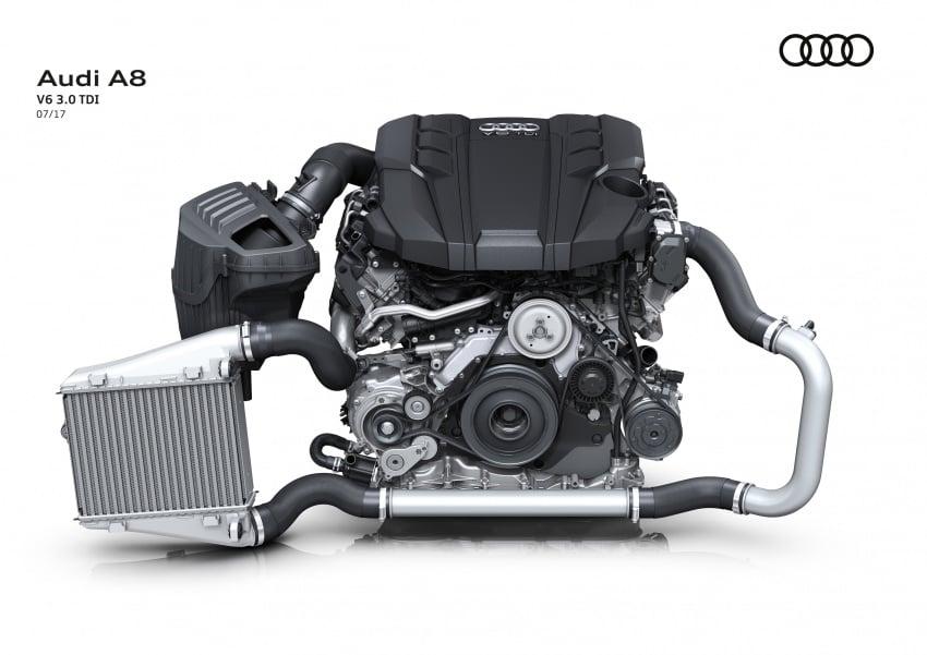2018 Audi A8 unveiled – new tech, standard mild hybrid system, world-first Level 3 autonomous driving Image #681539