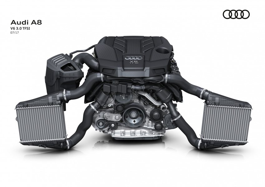 2018 Audi A8 unveiled – new tech, standard mild hybrid system, world-first Level 3 autonomous driving Image #681549