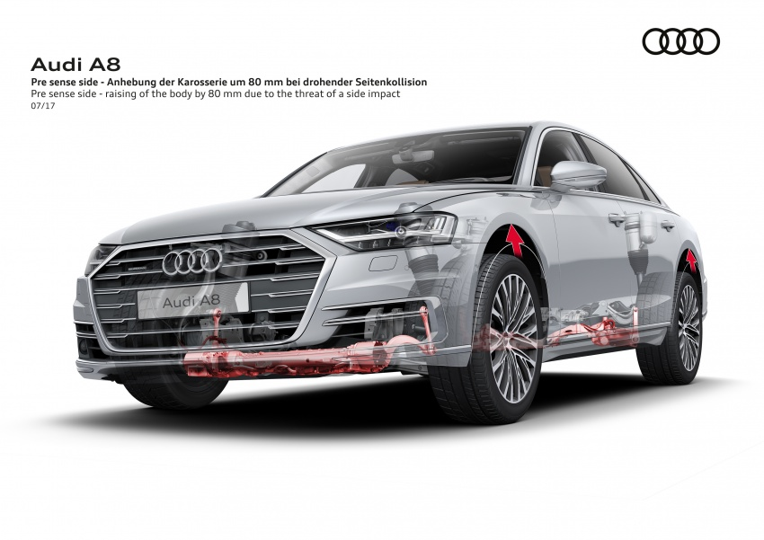 2018 Audi A8 unveiled – new tech, standard mild hybrid system, world-first Level 3 autonomous driving Image #681558