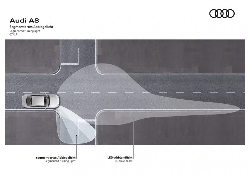 2018 Audi A8 unveiled – new tech, standard mild hybrid system, world-first Level 3 autonomous driving Image #681567
