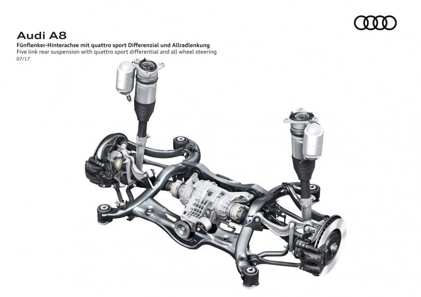 2018 Audi A8 unveiled – new tech, standard mild hybrid system, world-first Level 3 autonomous driving Image #681570