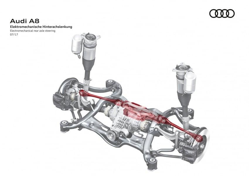 2018 Audi A8 unveiled – new tech, standard mild hybrid system, world-first Level 3 autonomous driving Image #681573