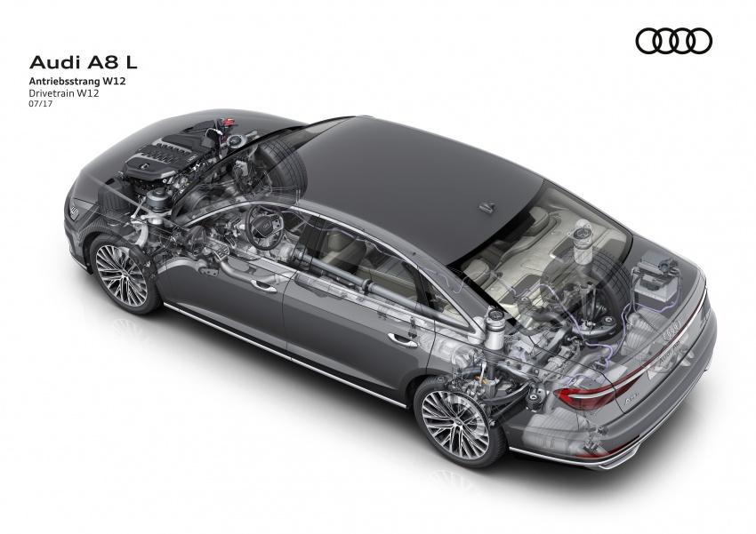 2018 Audi A8 unveiled – new tech, standard mild hybrid system, world-first Level 3 autonomous driving Image #681586