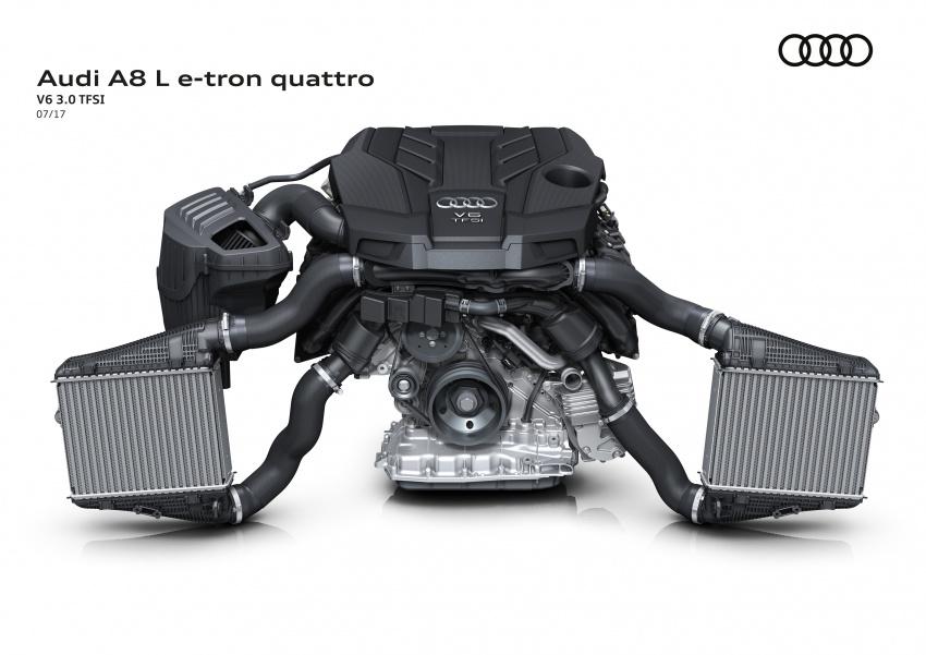 2018 Audi A8 unveiled – new tech, standard mild hybrid system, world-first Level 3 autonomous driving Image #681587
