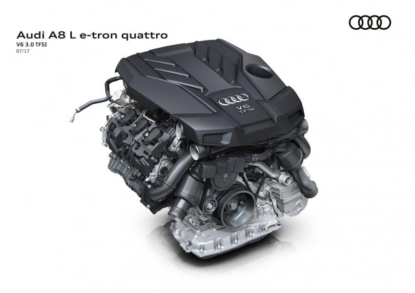 2018 Audi A8 unveiled – new tech, standard mild hybrid system, world-first Level 3 autonomous driving Image #681588