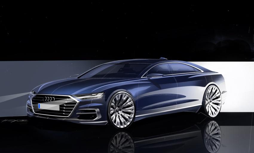 2018 Audi A8 unveiled – new tech, standard mild hybrid system, world-first Level 3 autonomous driving Image #681591