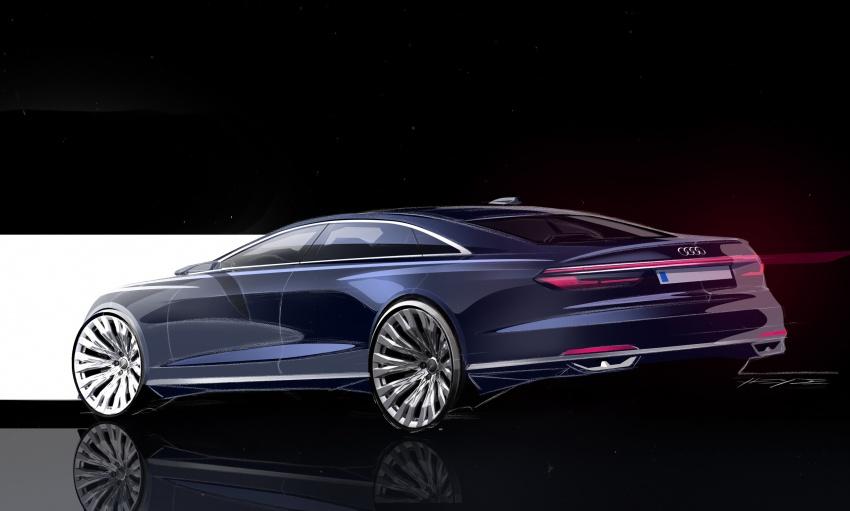 2018 Audi A8 unveiled – new tech, standard mild hybrid system, world-first Level 3 autonomous driving Image #681592