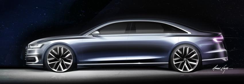 2018 Audi A8 unveiled – new tech, standard mild hybrid system, world-first Level 3 autonomous driving Image #681593