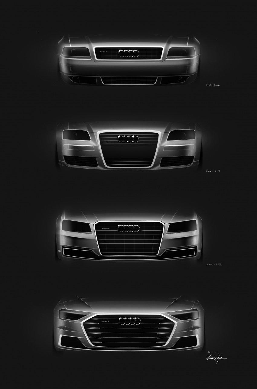 2018 Audi A8 unveiled – new tech, standard mild hybrid system, world-first Level 3 autonomous driving Image #681594