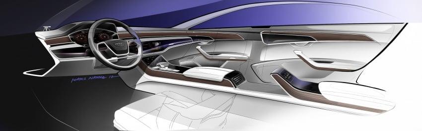 2018 Audi A8 unveiled – new tech, standard mild hybrid system, world-first Level 3 autonomous driving Image #681595