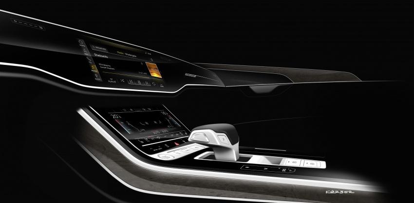 2018 Audi A8 unveiled – new tech, standard mild hybrid system, world-first Level 3 autonomous driving Image #681599