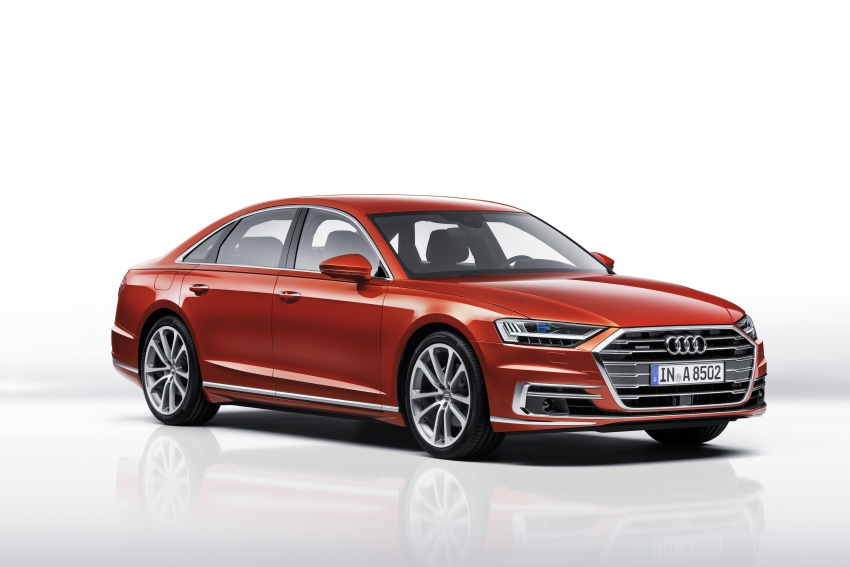 2018 Audi A8 unveiled – new tech, standard mild hybrid system, world-first Level 3 autonomous driving Image #681603
