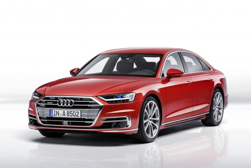 2018 Audi A8 unveiled – new tech, standard mild hybrid system, world-first Level 3 autonomous driving Image #681604