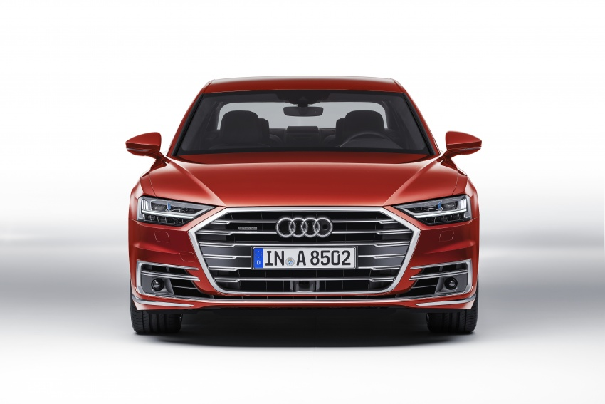 2018 Audi A8 unveiled – new tech, standard mild hybrid system, world-first Level 3 autonomous driving Image #681606