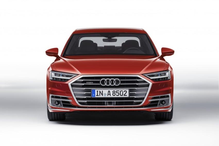 2018 Audi A8 unveiled – new tech, standard mild hybrid system, world-first Level 3 autonomous driving Image #681606