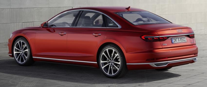 2018 Audi A8 unveiled – new tech, standard mild hybrid system, world-first Level 3 autonomous driving Image #681607