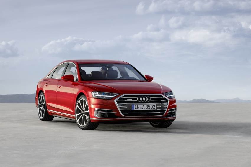2018 Audi A8 unveiled – new tech, standard mild hybrid system, world-first Level 3 autonomous driving Image #681608