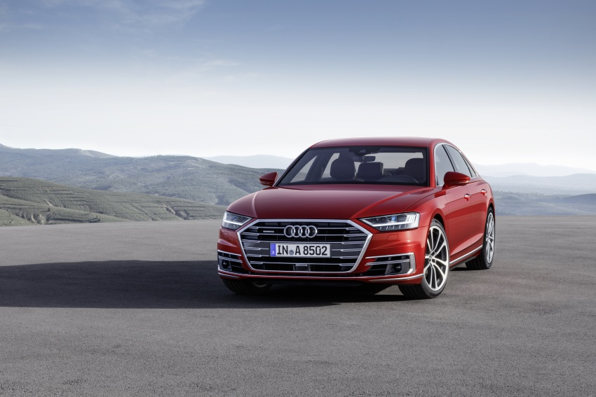 2018 Audi A8 unveiled – new tech, standard mild hybrid system, world-first Level 3 autonomous driving Image #681610