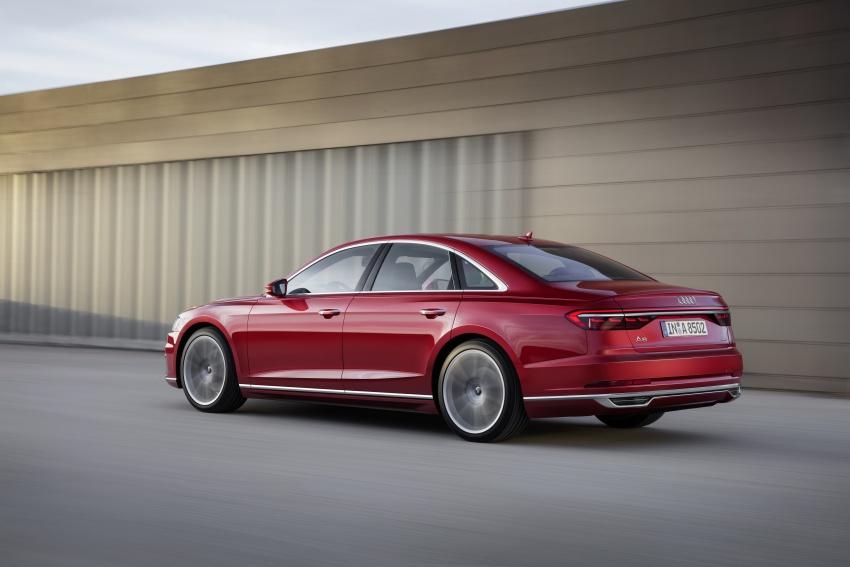 2018 Audi A8 unveiled – new tech, standard mild hybrid system, world-first Level 3 autonomous driving Image #681611
