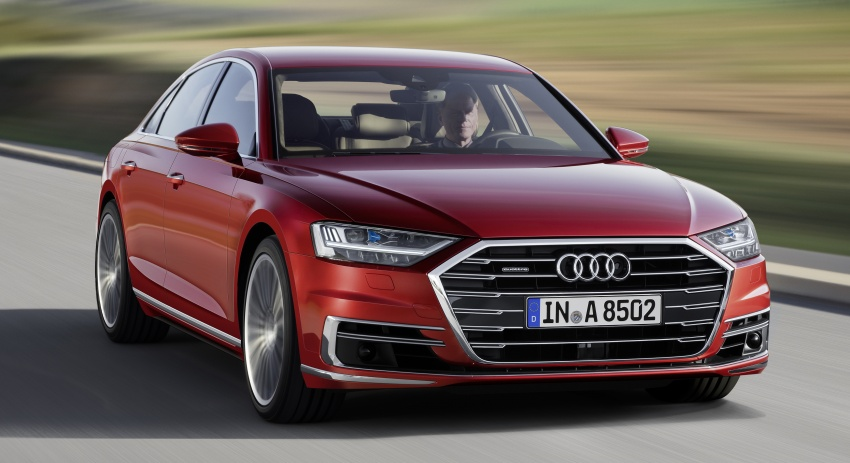 2018 Audi A8 unveiled – new tech, standard mild hybrid system, world-first Level 3 autonomous driving Image #681612
