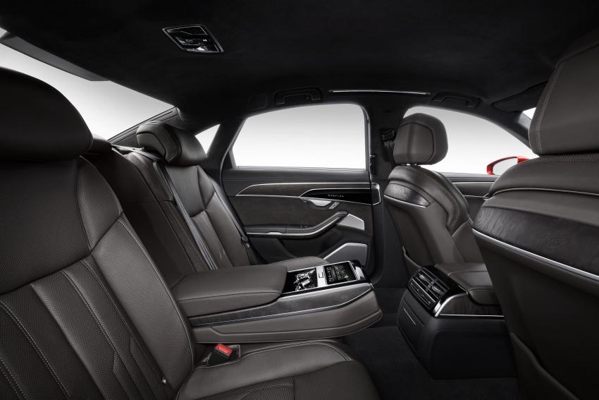 2018 Audi A8 unveiled – new tech, standard mild hybrid system, world-first Level 3 autonomous driving Image #681616