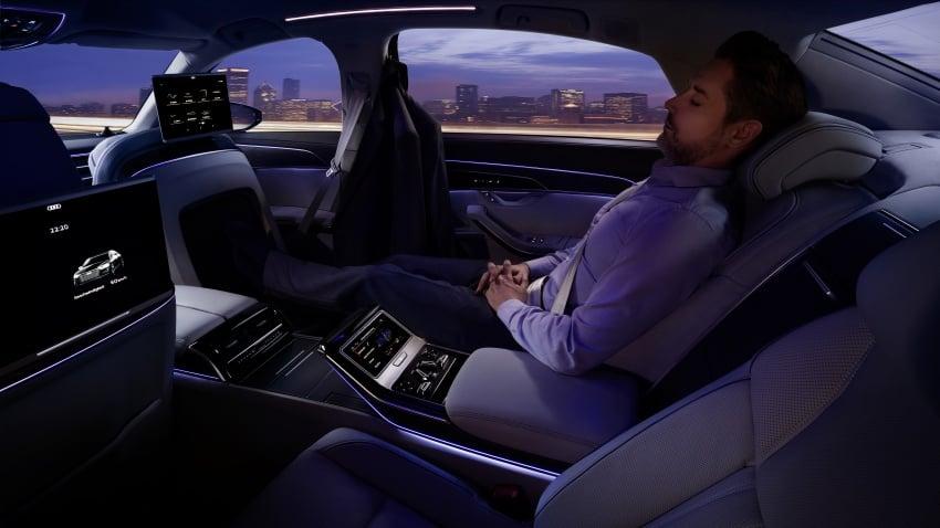2018 Audi A8 unveiled – new tech, standard mild hybrid system, world-first Level 3 autonomous driving Image #681619
