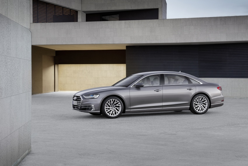 2018 Audi A8 unveiled – new tech, standard mild hybrid system, world-first Level 3 autonomous driving Image #681629