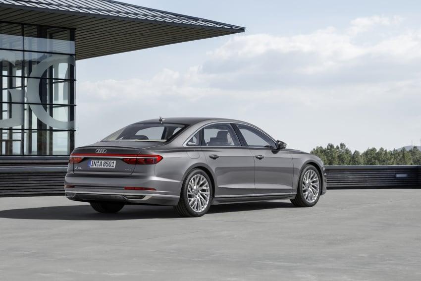 2018 Audi A8 unveiled – new tech, standard mild hybrid system, world-first Level 3 autonomous driving Image #681630