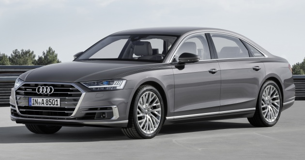 2018 Audi A8 Unveiled New Tech Standard Mild Hybrid System World First Level 3 Autonomous Driving