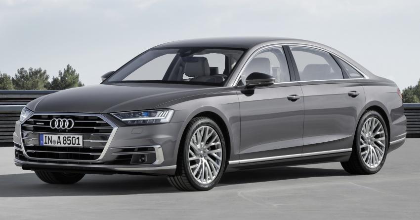 2018 Audi A8 unveiled – new tech, standard mild hybrid system, world-first Level 3 autonomous driving Image #681631