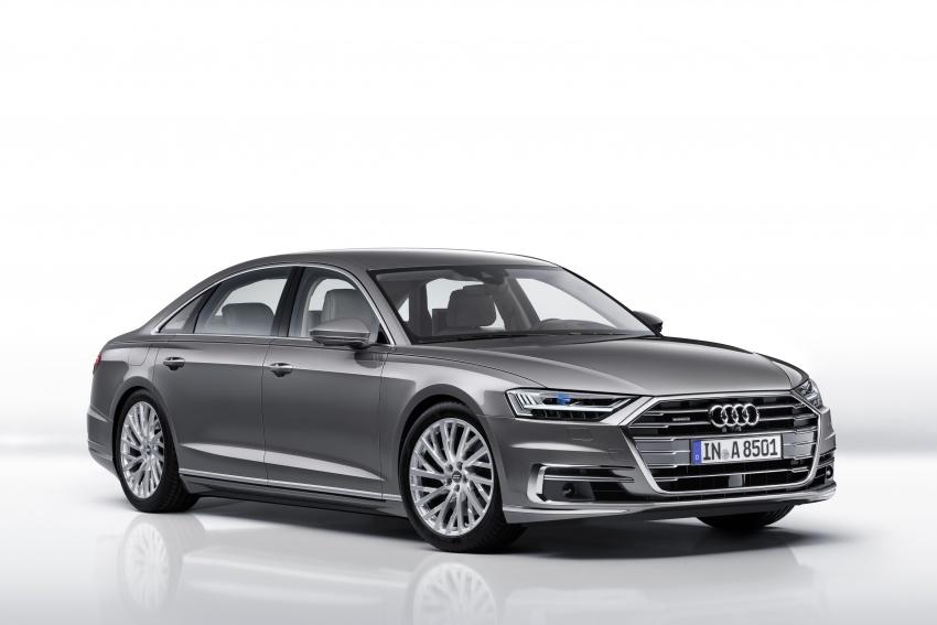 2018 Audi A8 unveiled – new tech, standard mild hybrid system, world-first Level 3 autonomous driving Image #681632