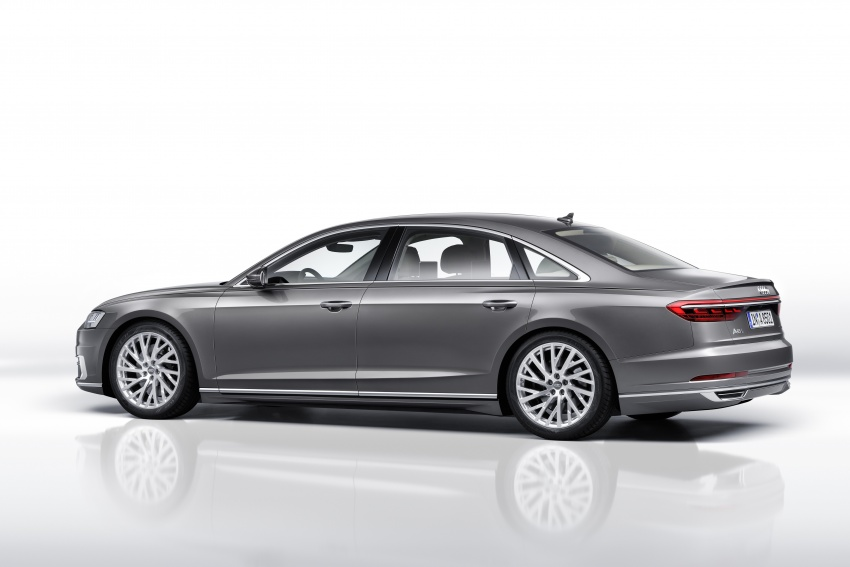2018 Audi A8 unveiled – new tech, standard mild hybrid system, world-first Level 3 autonomous driving Image #681633