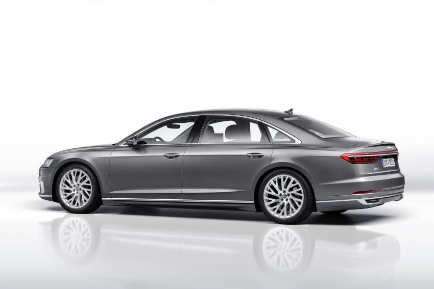 2018 Audi A8 unveiled – new tech, standard mild hybrid system, world-first Level 3 autonomous driving Image #681633