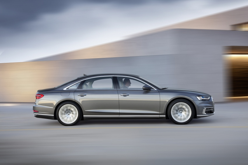 2018 Audi A8 unveiled – new tech, standard mild hybrid system, world-first Level 3 autonomous driving Image #681635