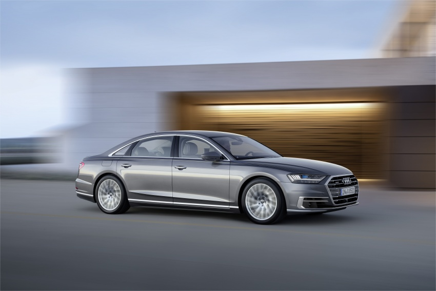 2018 Audi A8 unveiled – new tech, standard mild hybrid system, world-first Level 3 autonomous driving Image #681636