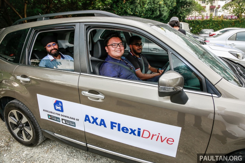 AXA FlexiDrive launched: drive safe to lower premiums Image #680788
