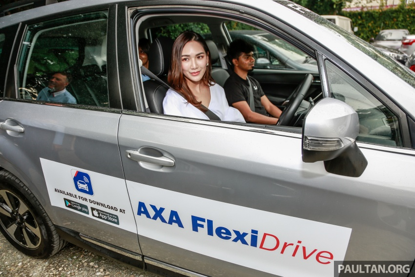 AXA FlexiDrive launched: drive safe to lower premiums Image #680789