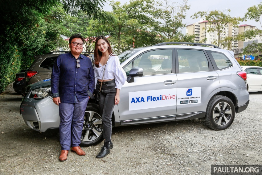AXA FlexiDrive launched: drive safe to lower premiums Image #680869