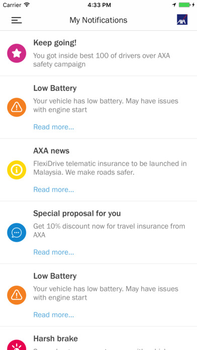 AXA FlexiDrive launched: drive safe to lower premiums Image #680740