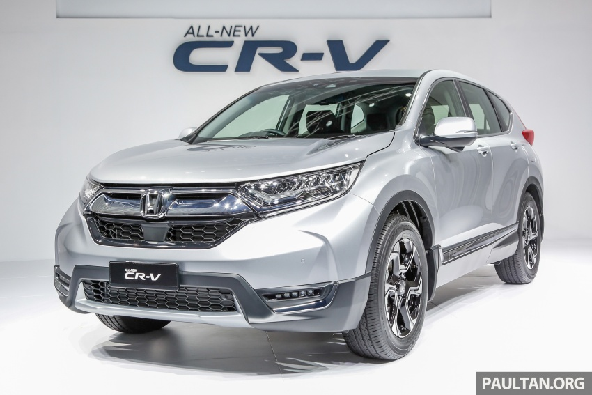 2017 Honda CR-V launched in Malaysia – three 1.5L Turbo, one 2.0L NA, priced from RM142k to RM168k Image #682096