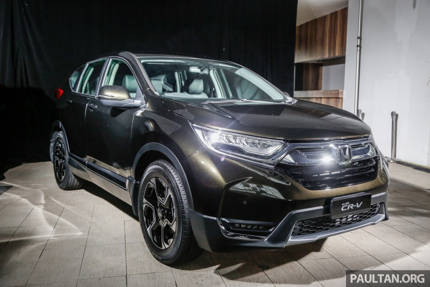 2017 Honda CR-V launched in Malaysia – three 1.5L Turbo, one 2.0L NA, priced from RM142k to RM168k Image #681899
